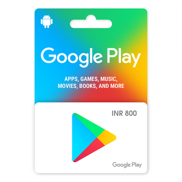 Indian google play gift card