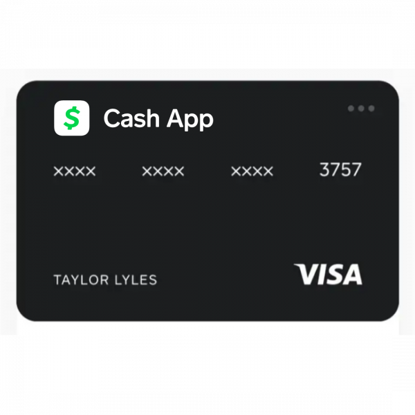 Cash App - International Virtual Visa Card