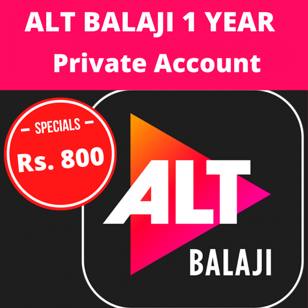 Alt Balaji 1 Year 4 Screen – Private Account