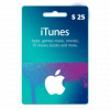 itunes gift card in Nepal 25$